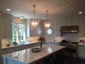 Here's a beautiful kitchen we had our hands in!